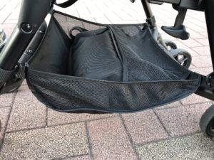 【ミリミリEG】下には収納スペースあり。(お散歩用のかばんを入れてます)